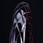 月光ZERO ハンドルカバー ブラック×レッド