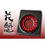 花魁JAPAN LEDテールランプ ブレーキスモールタイプ レッドクリア