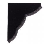 チンチラ サイドカーテン ブラック