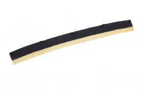 DOLCEモノグラムライン ジャガード フロントカーテン ストレート ゴールド