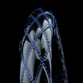 NEWブレイクキルト ハンドルカバー ブラック×ブルー(ダブル)