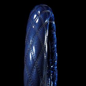 煌輝V2 ハンドルカバー ブラック×ブルー
