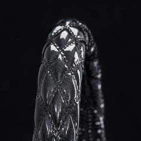 ブラック×ブラック(シルバーラメ)
