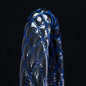 ブラック×ブルー(シルバーラメ)